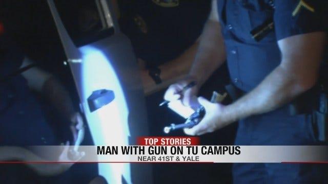 Man With Gun Arrested On University Of Tulsa Campus