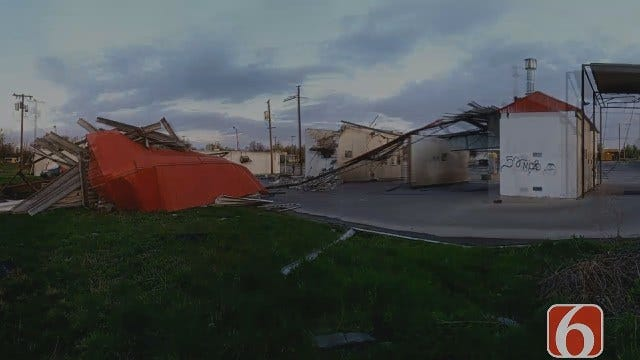 Dave Davis On North Tulsa Tornado Debris Pickup