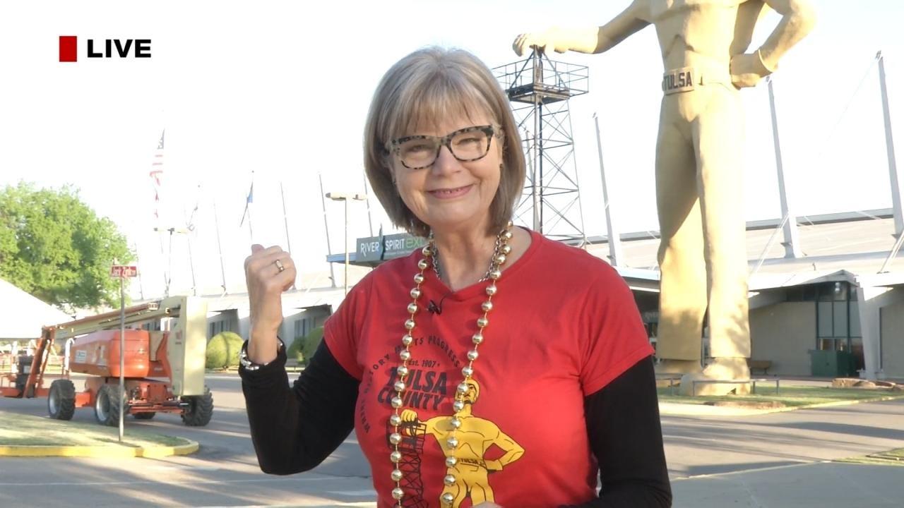 Tulsa To Mark The Golden Driller's Anniversary
