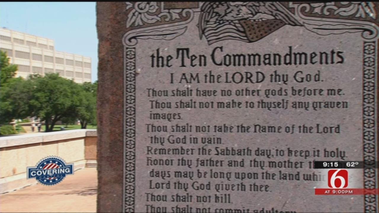 Plans To Return Ten Commandments Monument To Oklahoma Capitol Headed To House, Senate
