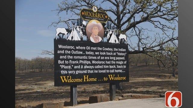 News On 6 Photojournalist Steve Parker Tours Woolaroc Preserve
