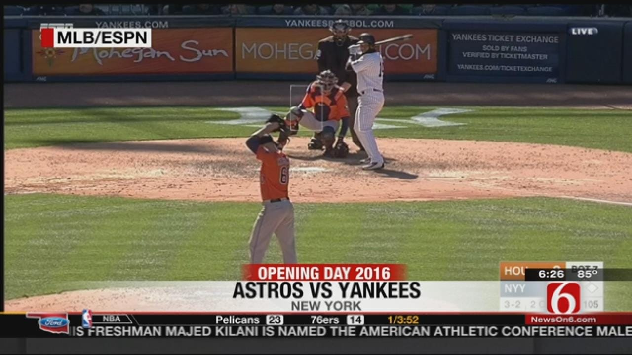 Bishop Kelley Alumni Dallas Keuchel Helps Astros To Opening Day Win Over Yankees