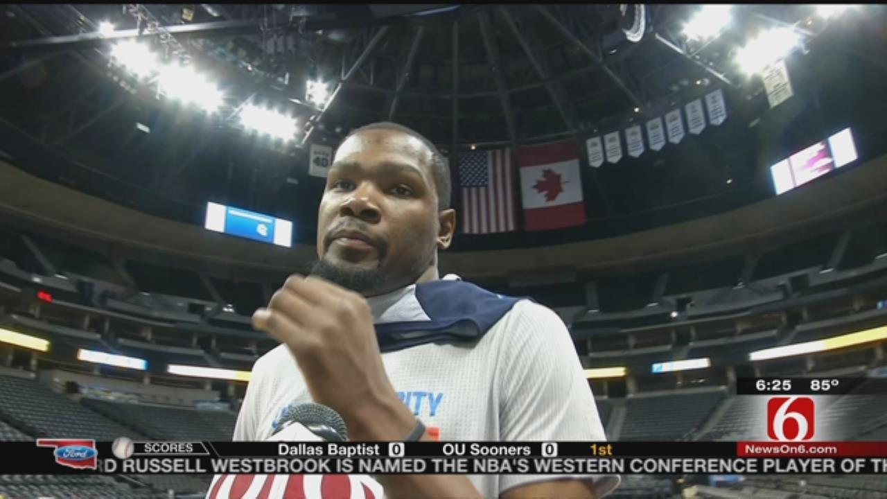 Thunder Report: Kevin Durant Talks Team Momentum