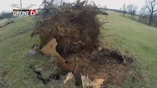 DRONE 6: Claremore Tornado Damage