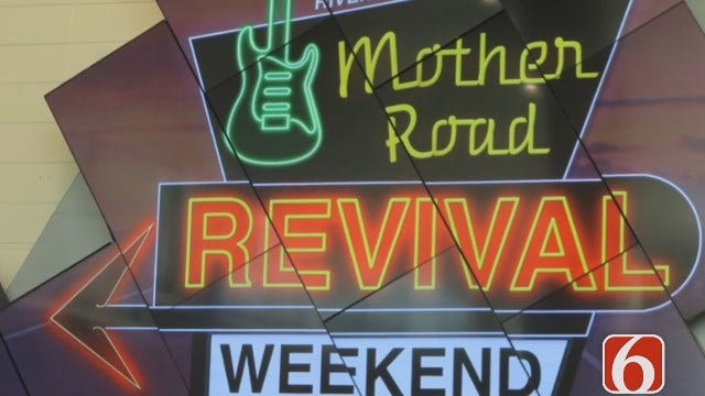 Emory Bryan Reports On Tulsa Mother Road Revival