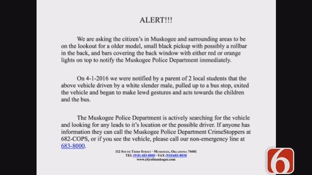 Lori Fullbright: Naked Man At Muskogee School Bus Stop