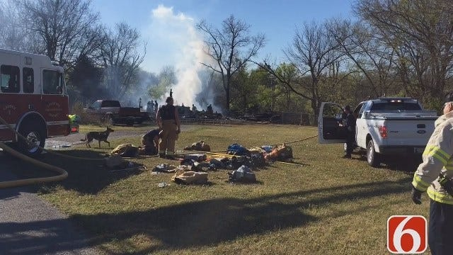 Tony Russell: Rogers Co. Sheriff's Office Say Man Set His House On Fire