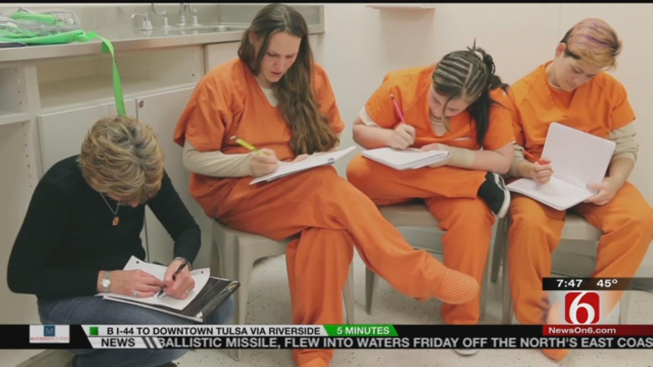 Fly The Coop: Teacher Giving Incarcerated Women A Voice