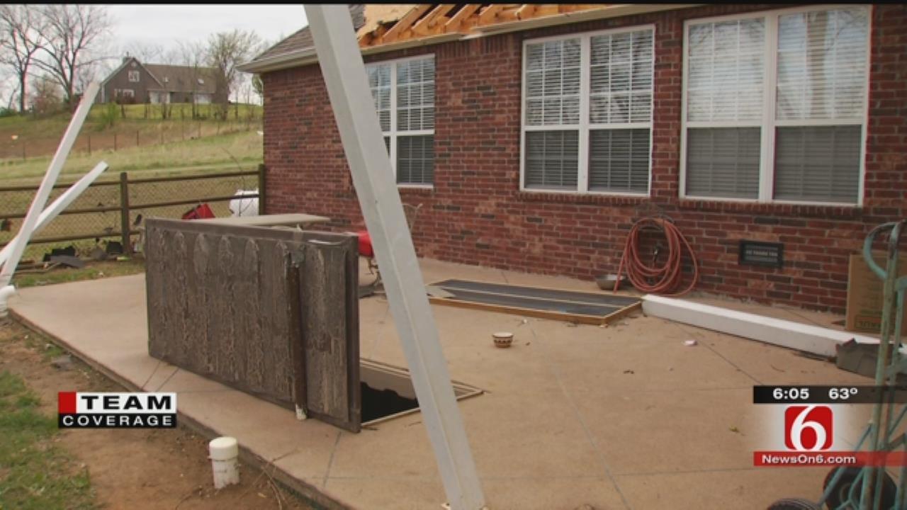 Claremore Couple's Community Shelter Keeps Neighbors Safe