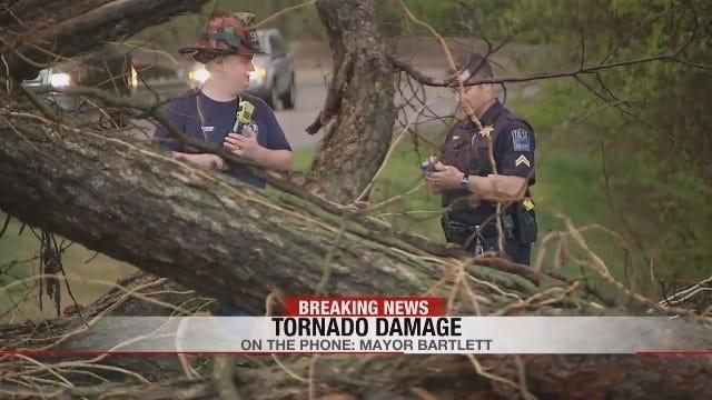 Early Warning Helped People Stay Safe In Tulsa Tornado, Mayor Says