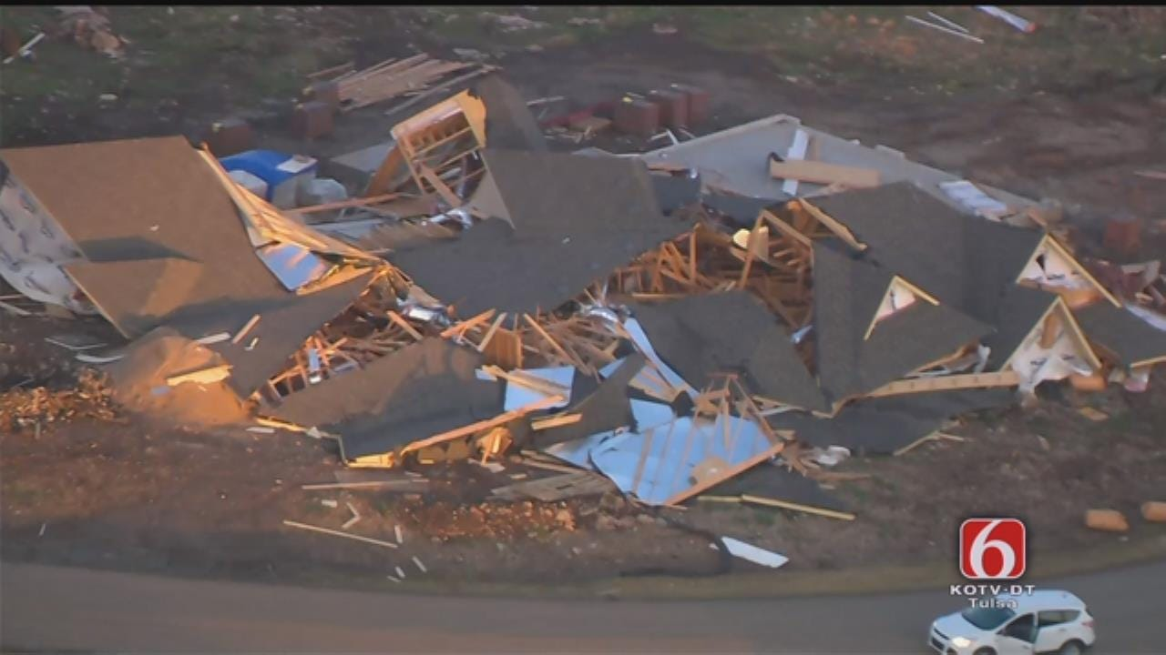 Osage SkyNews 6 HD: Owasso's Stone Canyon Tornado Damage