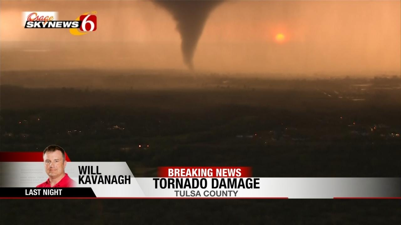 Will Kavanagh Reports On Flying Next To Tulsa Tornado