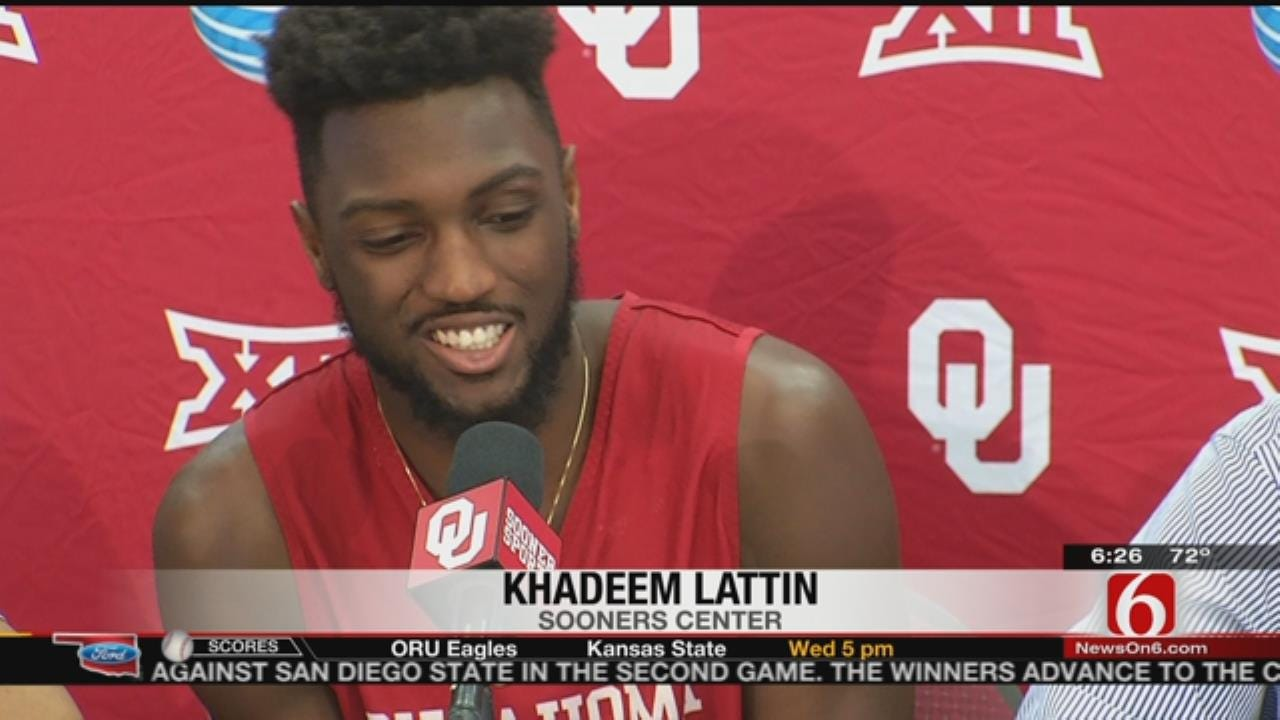 OU: Khadeem Lattin Returns Home For Final Four
