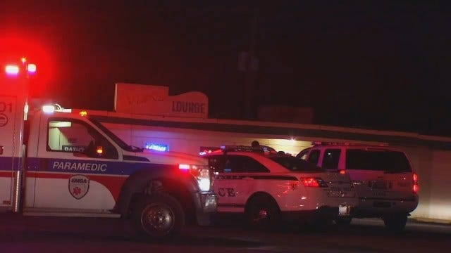 WEB EXTRA: Video From Scene Outside Tulsa Bar On East Pine