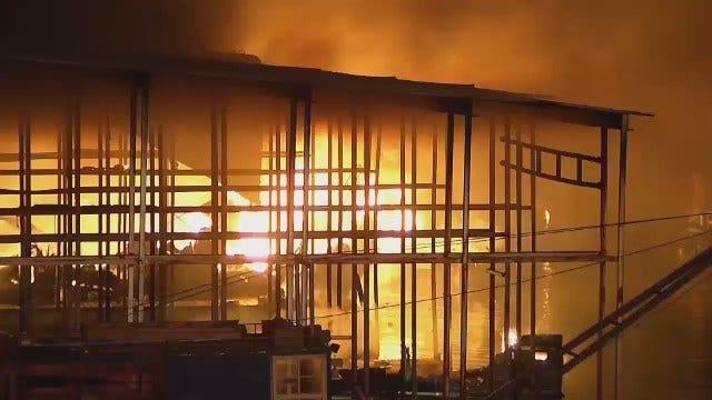 Scenes From Keystone Pier 51 Marina Fire