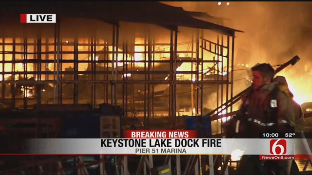 Part 1: Firefighters Battle Fire At Pier 51; People Rescued From Dock