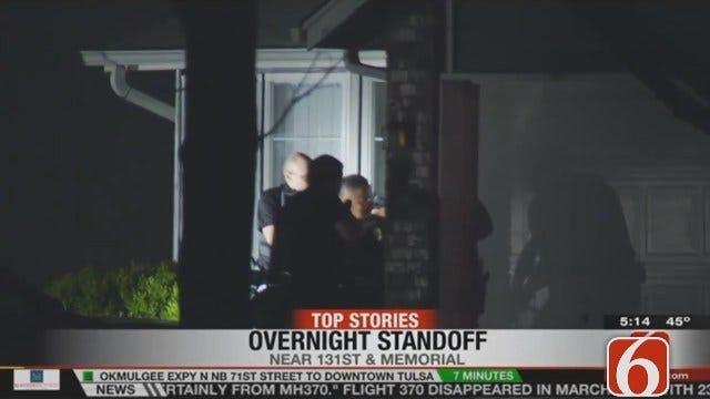 Dave Davis Reports On Bixby Standoff, Man's Arrest