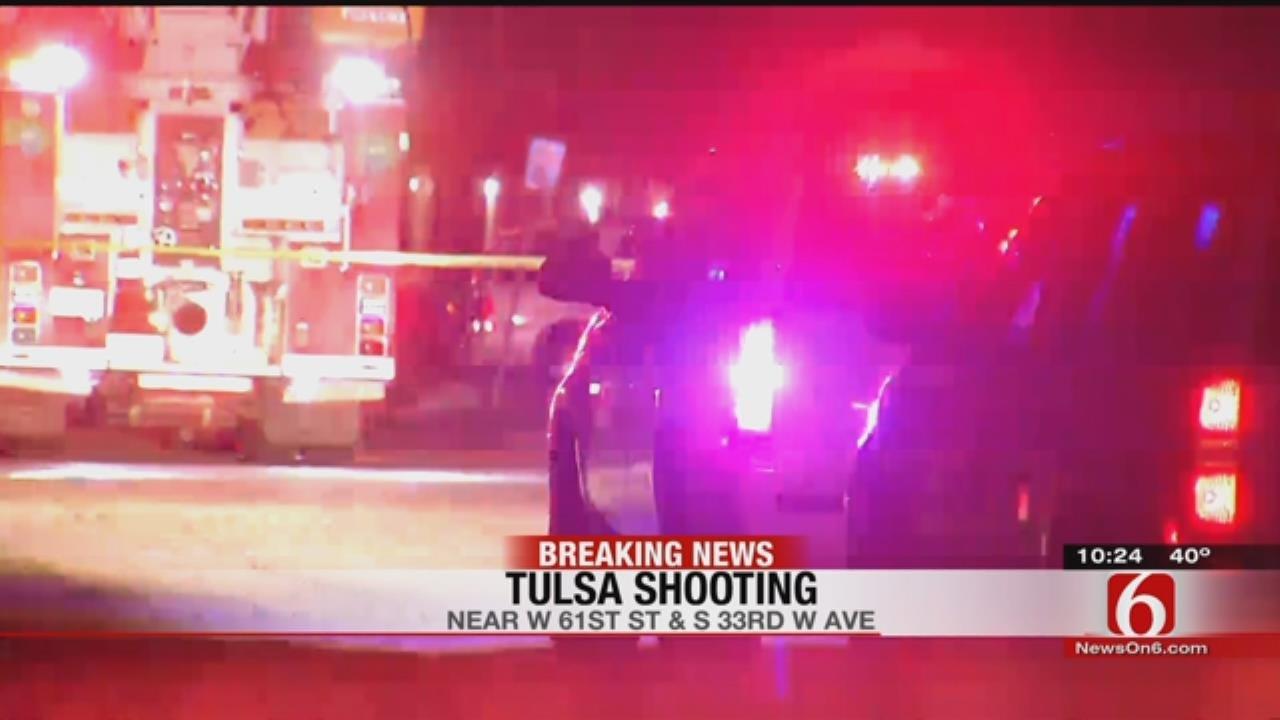 Deputies Investigate Shooting West Of Tulsa