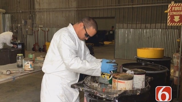 Emory Bryan: Tulsa Pollutant Collection Facility Free And Open Year-Round
