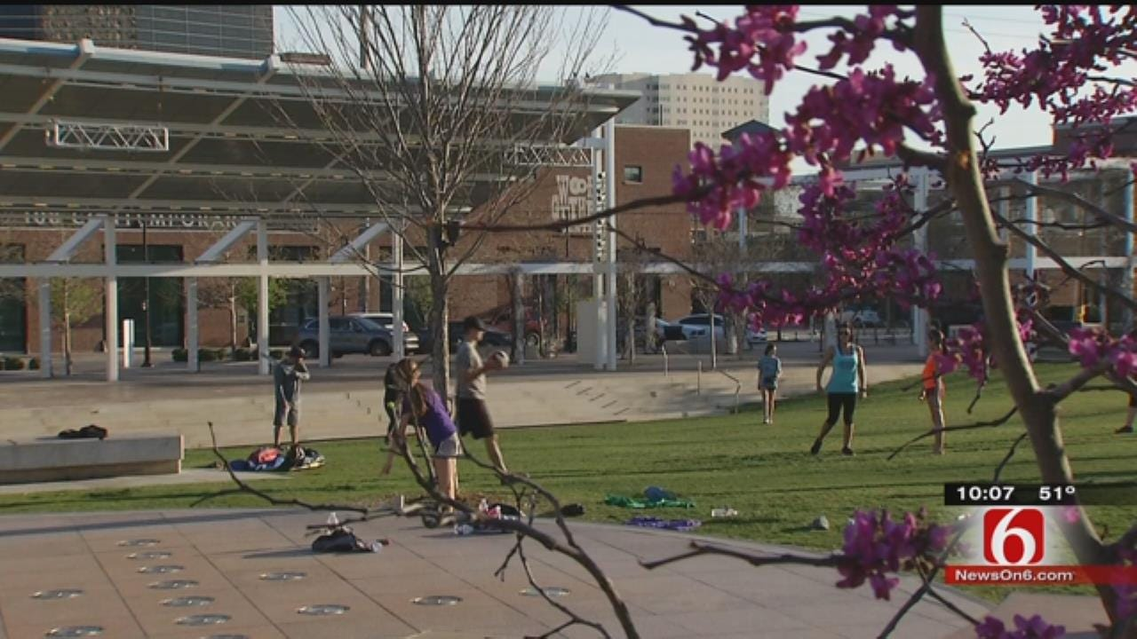 Spring-Like Weather Has OK Allergy Sufferers Sneezing Early