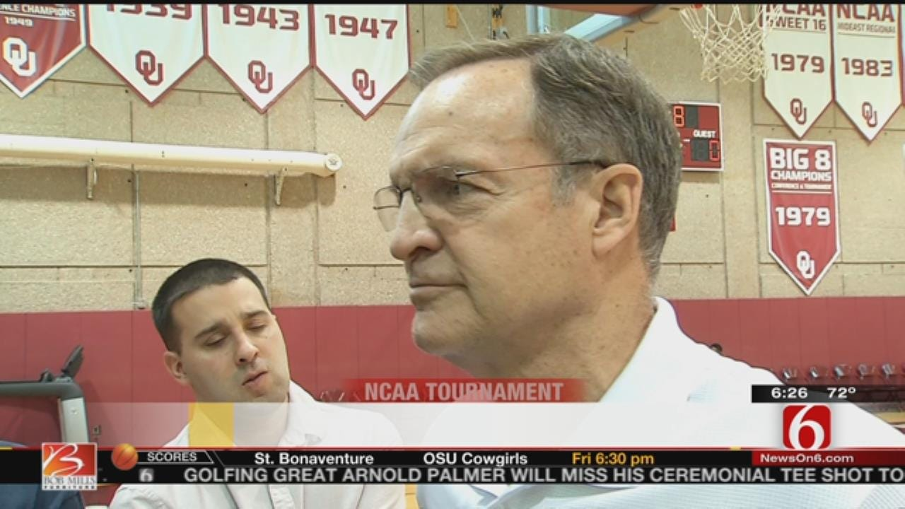 OU Head Coach Lon Kruger Talks Opening NCAA Tournament vs. CSU Bakersfield