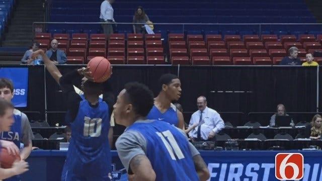 TU Prepares For Michigan Game In NCAA Tournament