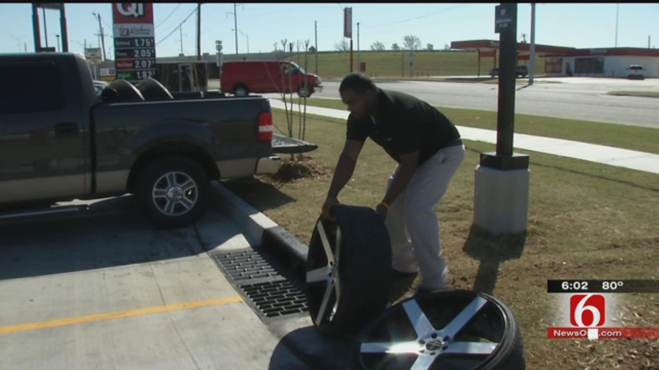 Tulsa Man Helps Police Recover His Stolen Rims