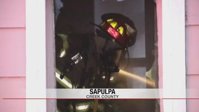 Sapulpa House Fire Under Investigation
