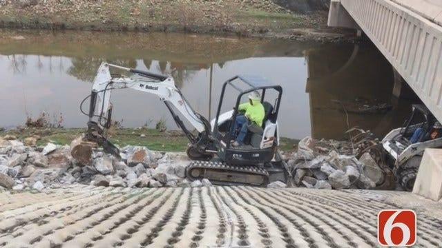 Emory Bryan Reports Tulsa's Joe Creek Trail Closed For Improvement Project