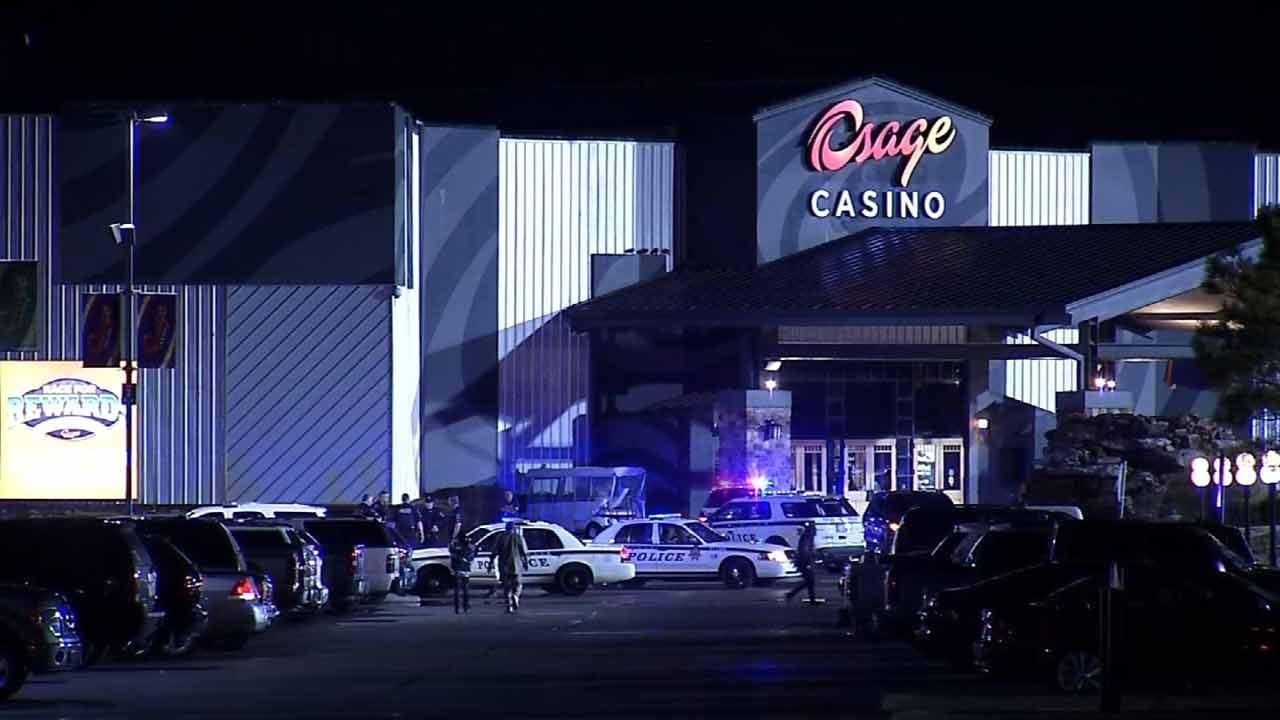 Tulsa Police Chase Stolen Car Suspect To Casino