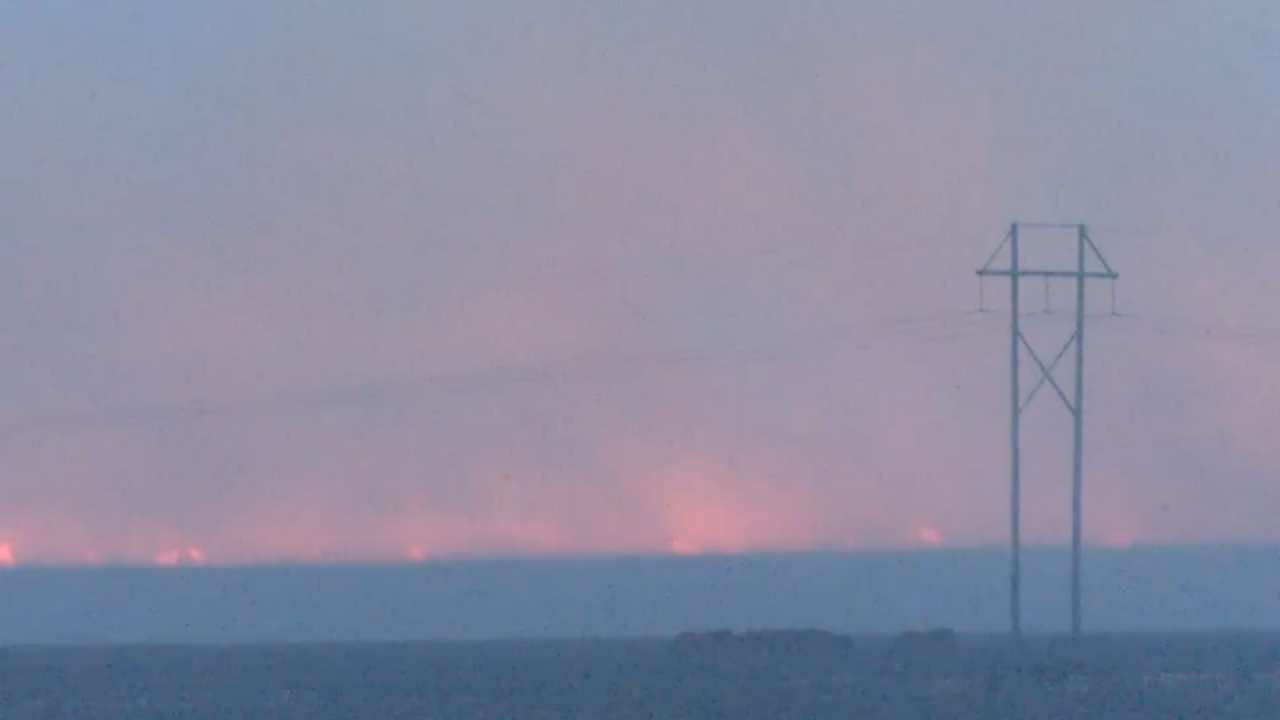 Massive Wildfire Makes Way Across Washington, Osage County Ranchlands