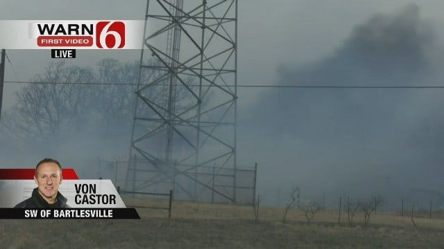 WEB EXTRA: Mike Grogan Gives Updates On Grass Fires