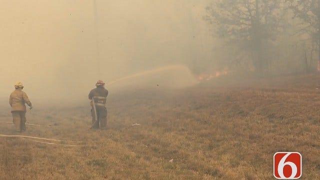 Darren Stephens: Fires Close Portion Of Highway 51 In Mannford