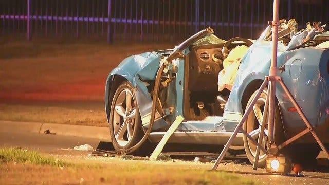 WEB EXTRA: Scenes From A Fatal Tulsa Crash