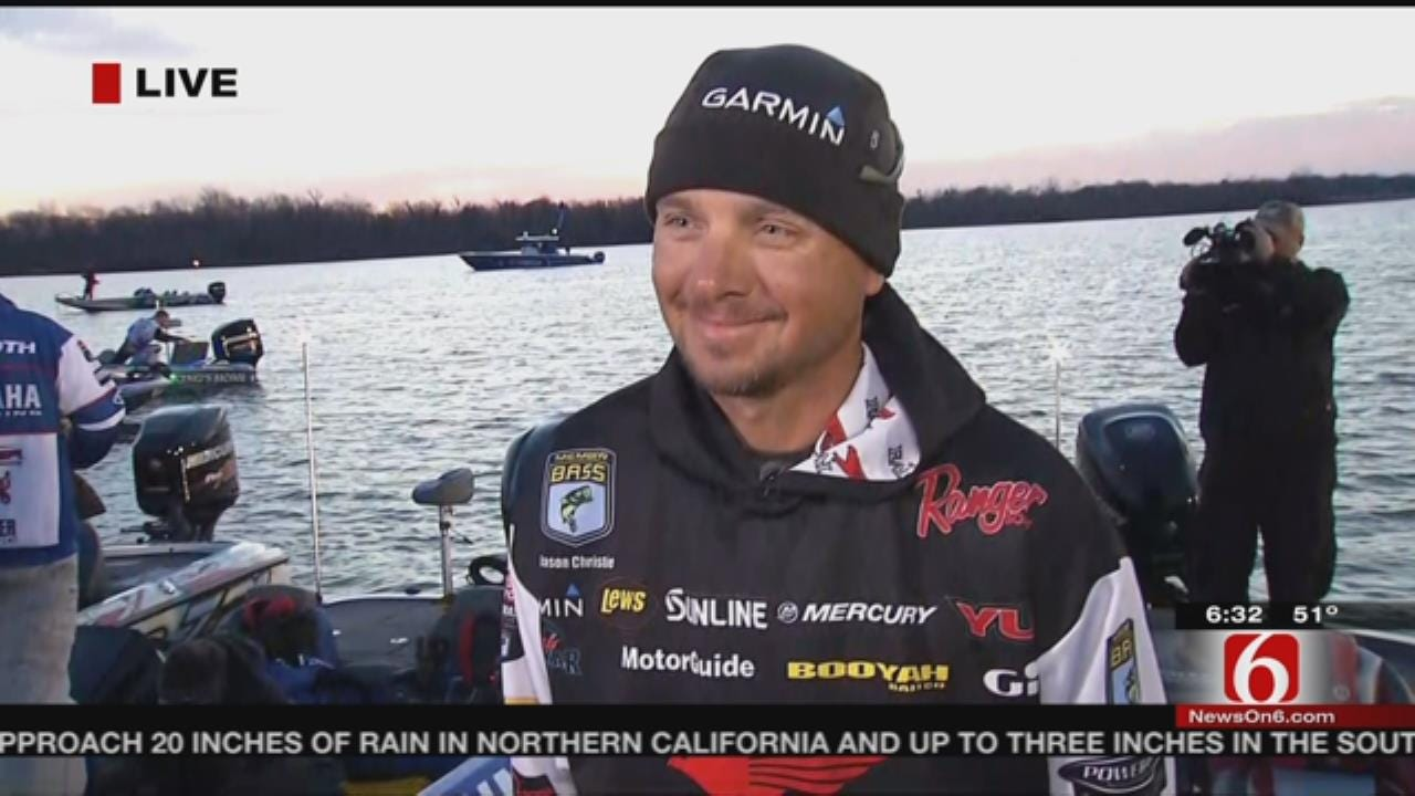 WEB EXTRA: Jason Christie Leads Going Into Final Day Of Bassmaster Classic