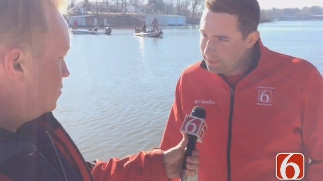 Tony Russell Talks With Charlie Hannema About 2016 Bassmaster Classic On Grand Lake