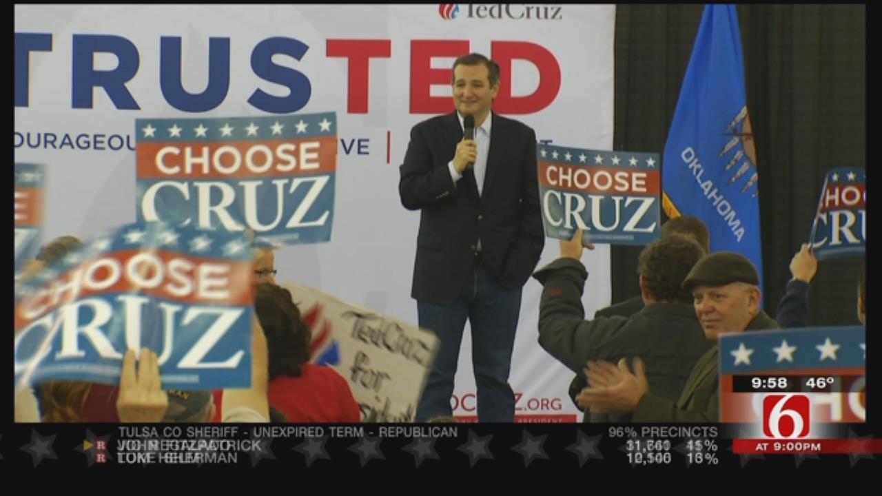 Ted Cruz Wins Oklahoma Primary On Super Tuesday