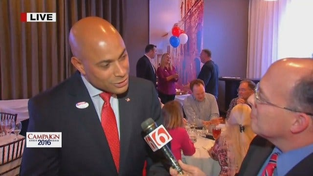 WEB EXTRA: Emory Bryan Speaks With Republican Sheriff Candidate
