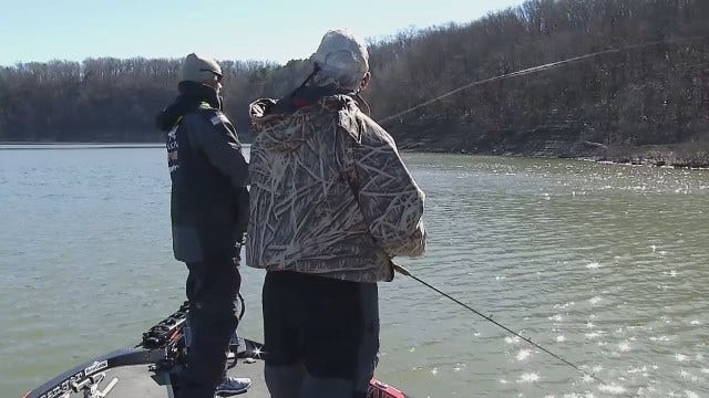 WEB EXTRA: Dick Faurot Goes Fishing With Jason Christie