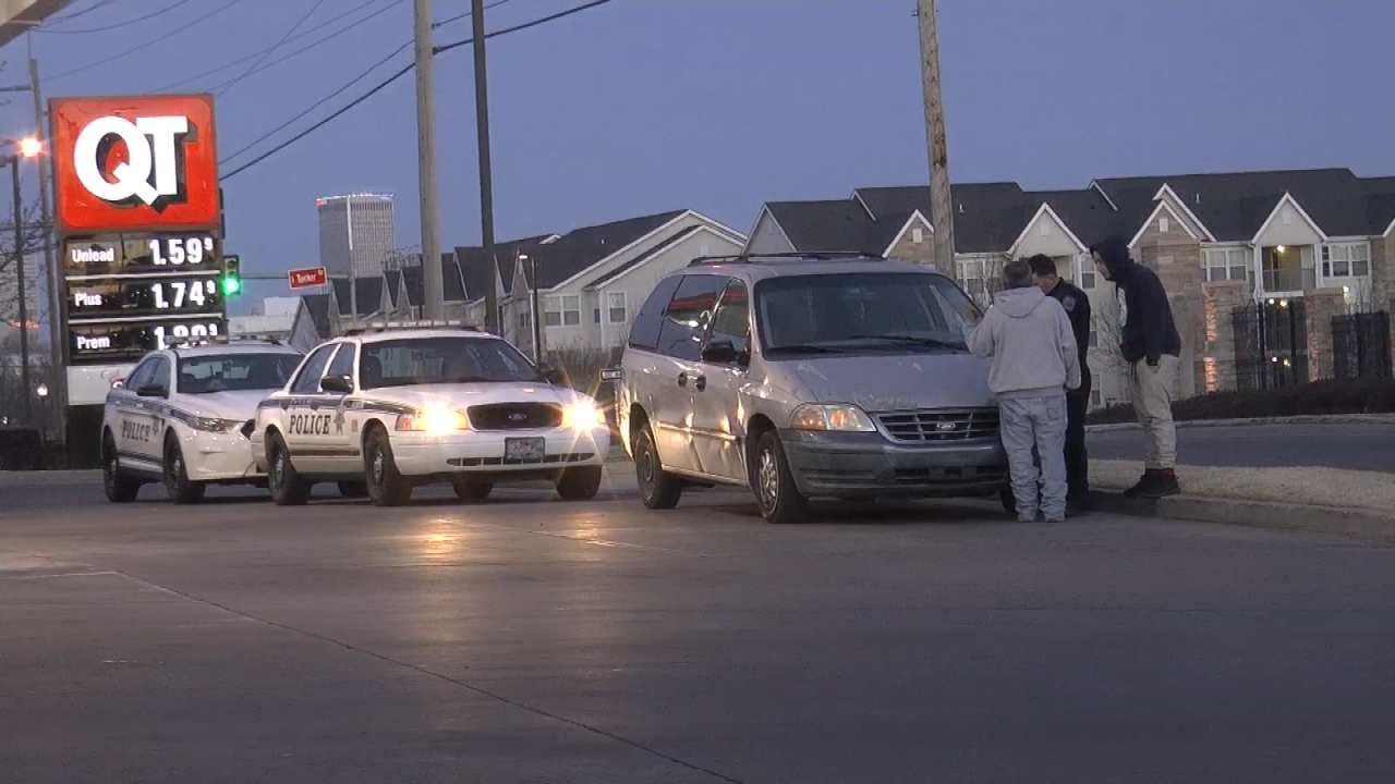 Tulsa Police Arrest Woman Suspected Of Stealing Van