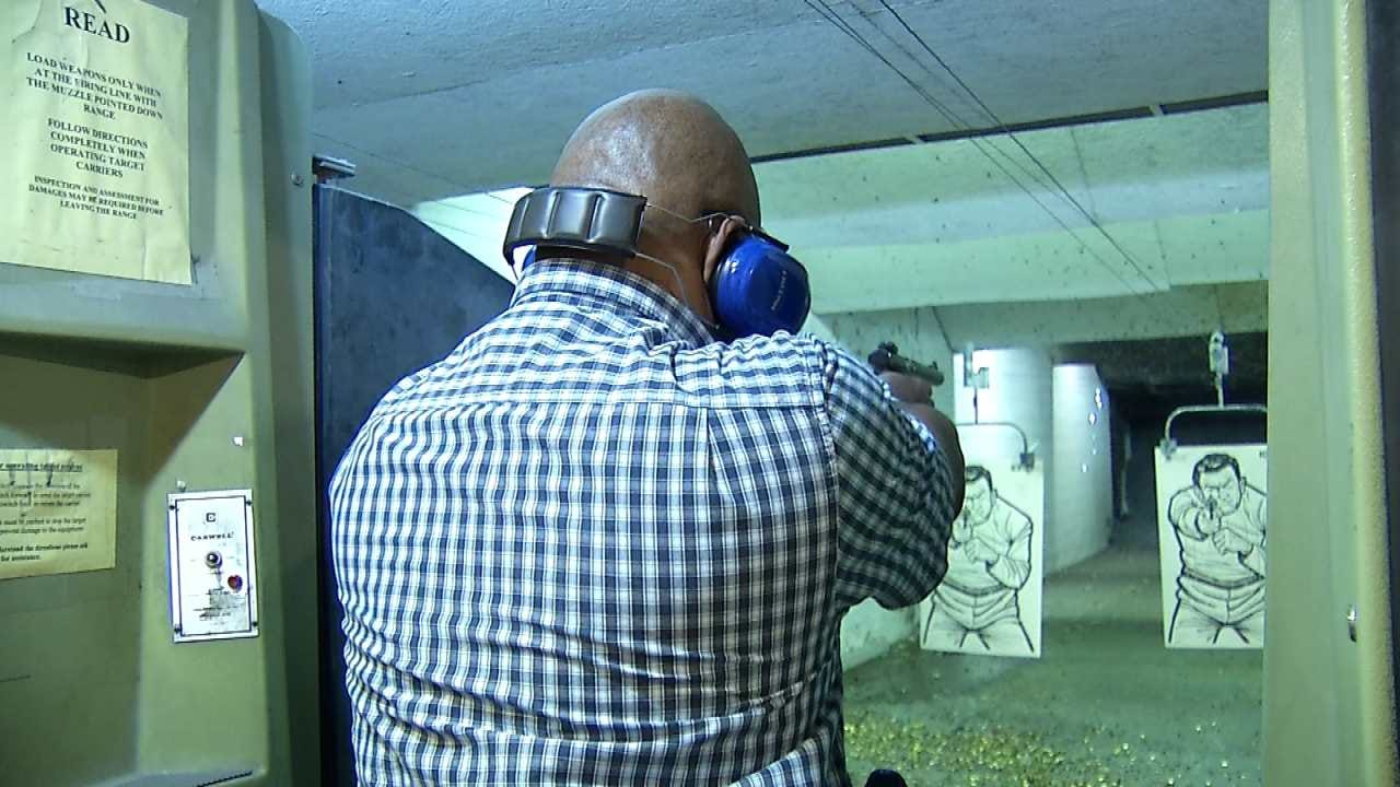 Oklahoma Business Holds Firearm Safety Class For Clients