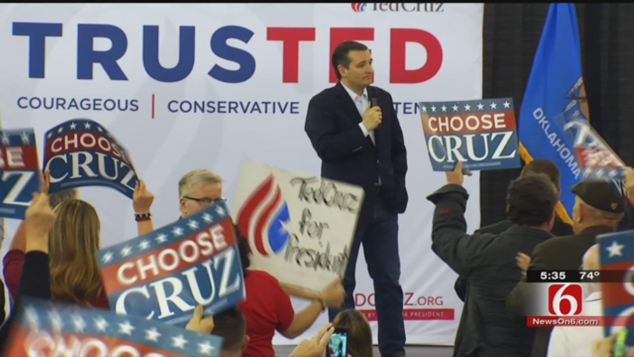 Ted Cruz, Glenn Beck Rally Republicans In Tulsa