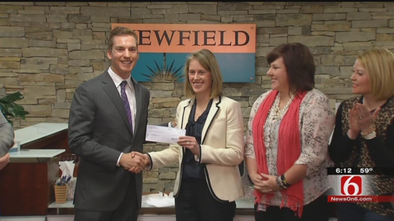 Company Donates $35,000 To Reading Partners Of Tulsa