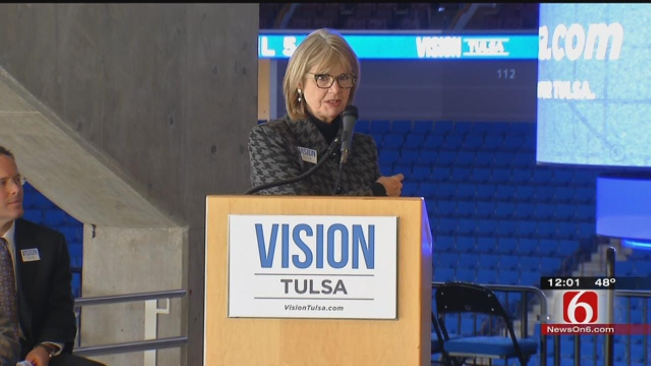 Campaign To Pass Tulsa's New Vision Tax Plan Begins