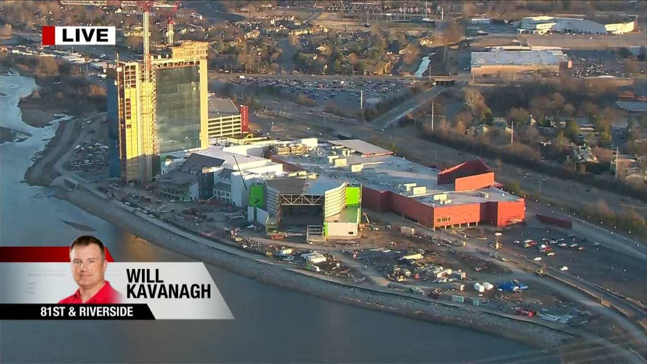 Will Kavanagh Reports On Progress At River Spirit Casino