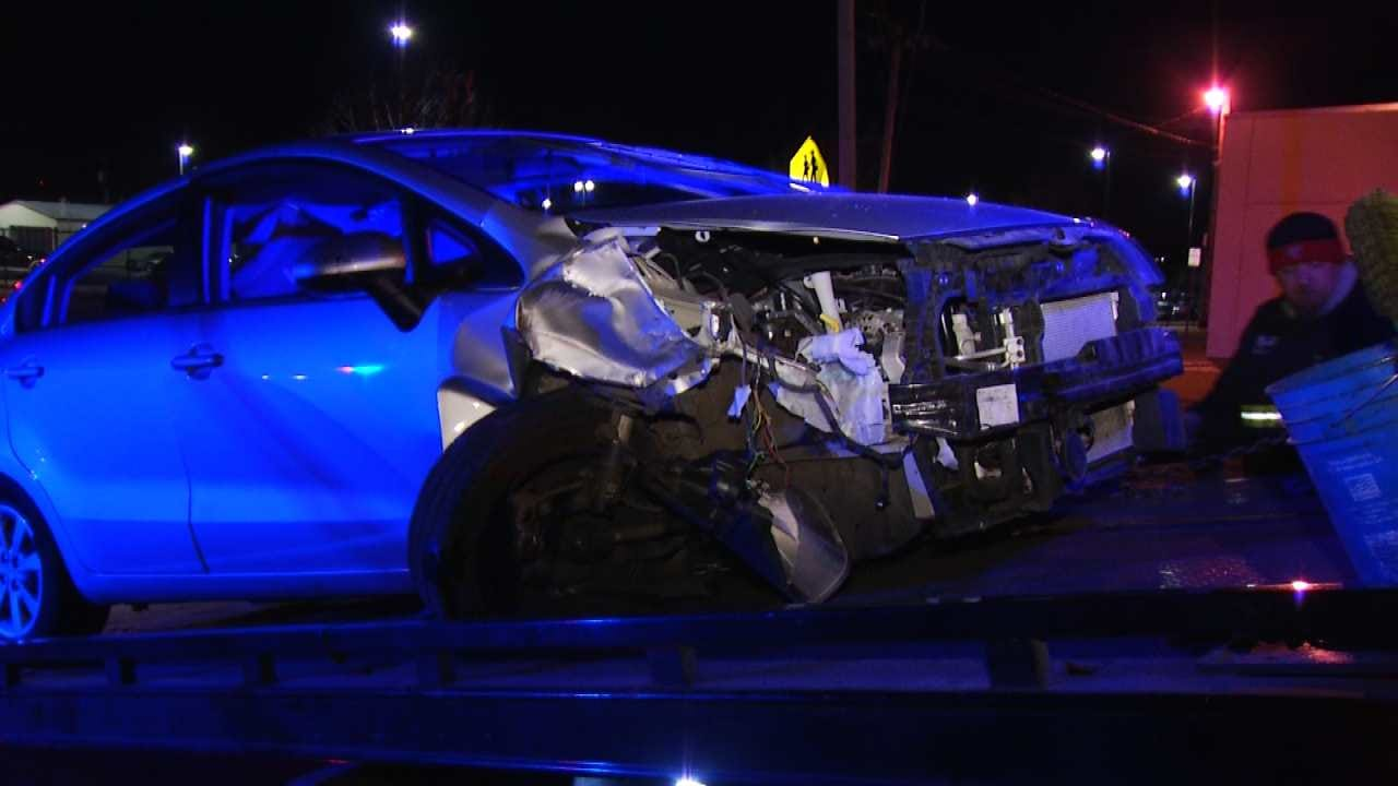Gary Kruse: Man Texting And Driving Crashes In Tulsa