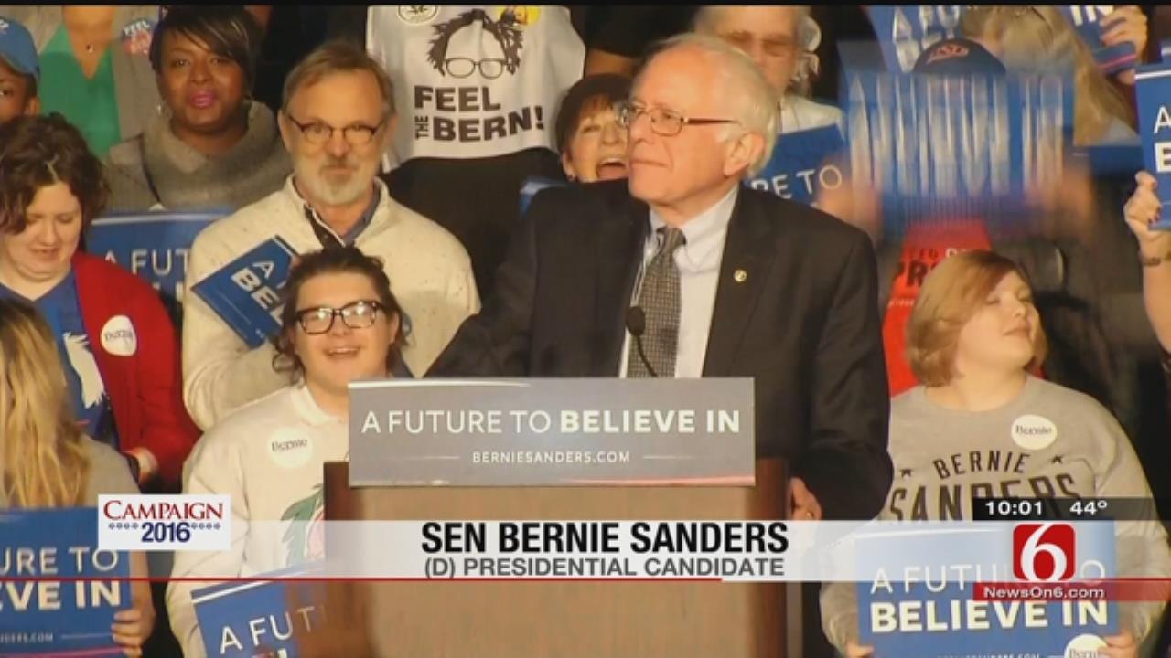 Sanders To Tulsa Crowd: 'Together We Can Accomplish Anything'