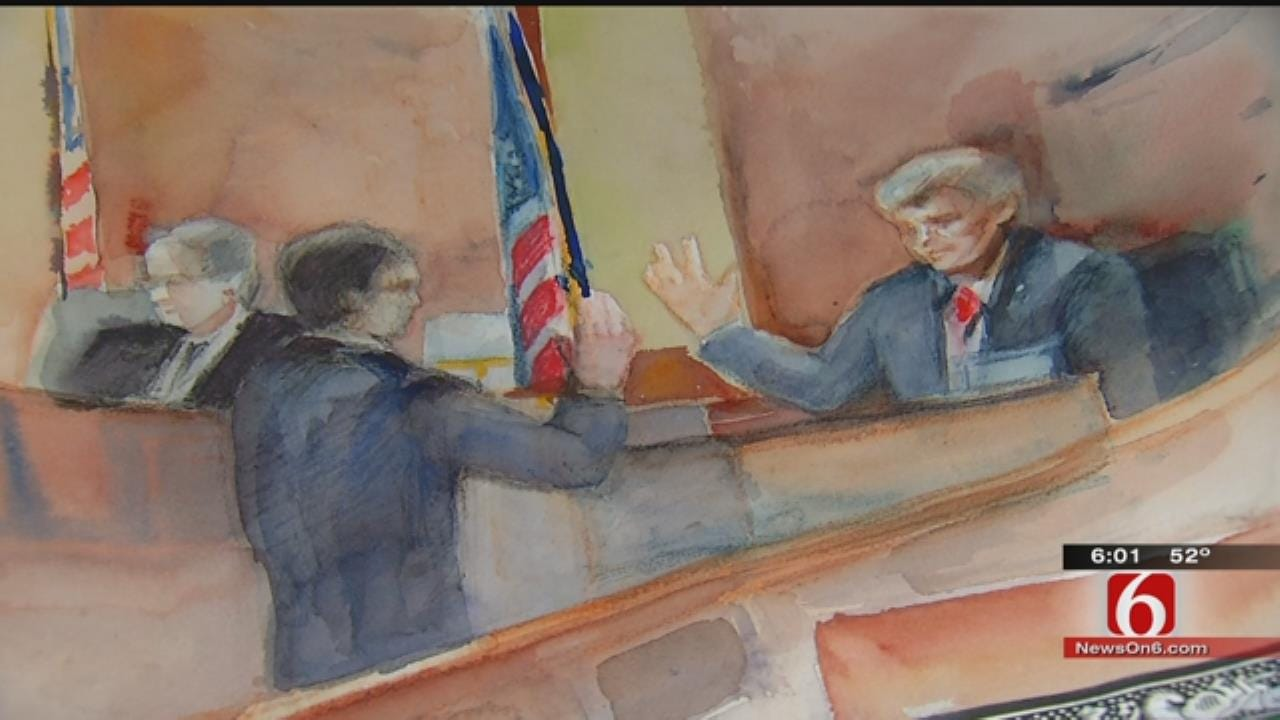 Former Tulsa Sheriff Stanley Glanz Testifying In Federal Trial