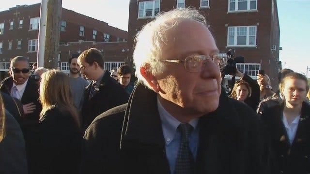 WEB EXTRA: Bernie Sanders 'Woody Guthrie Is An Old Hero Of Mine'