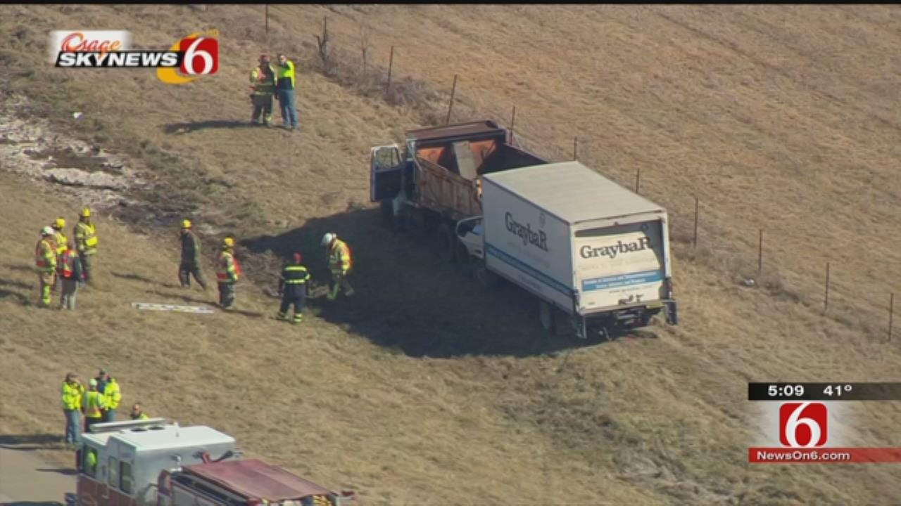 OHP Identifies Man Killed In Mayes County Truck Wreck